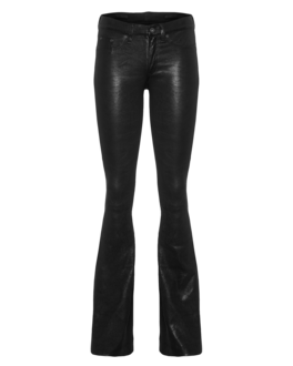 RAG&BONE Flare Leather Black