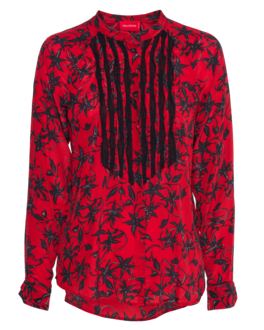 ZADIG&VOLTAIRE Chai Print Red