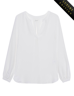 JADICTED Heavy Silk Tunic Off-White