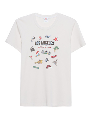 RE/DONE Vintage Los Angeles Off-White