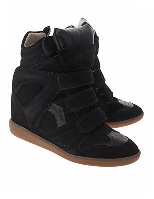 Isabel Marant Étoile Bekett Leather Black