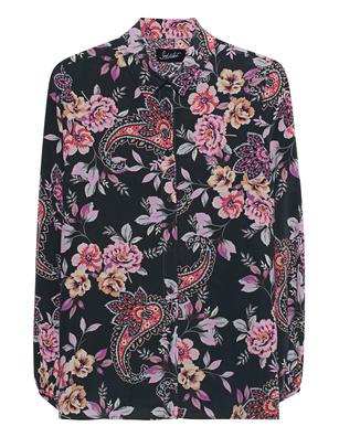JADICTED Blouse Silk Multicolor