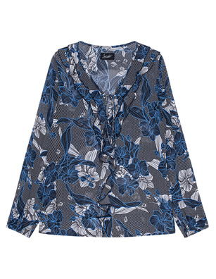 JADICTED Floral Chic Blue