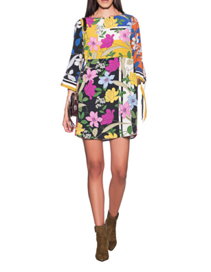 JADICTED Flower Dress Multicolor