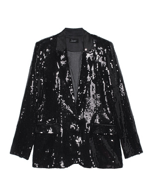 JADICTED Sequin Classy Black