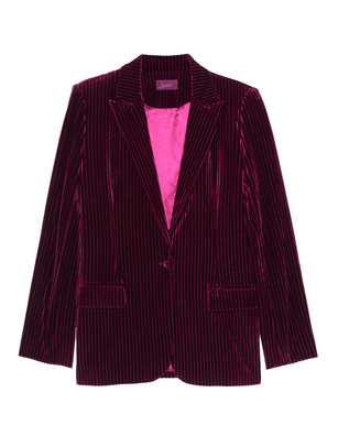 JADICTED Corduroy Blazer Bordeaux