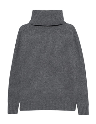 JADICTED Turtle Knit Grey