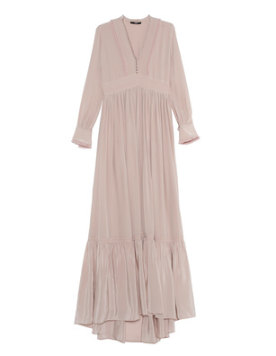 SLY 010 Maxi Flounce Dusty Rose