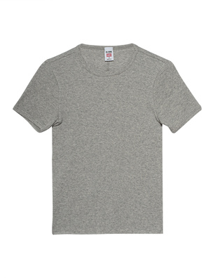 RE/DONE 90s Ripped Heather Grey