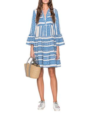 DEVOTION Ethno Dress Blue