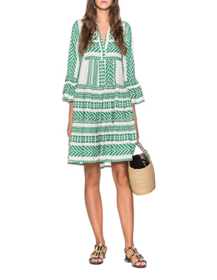 DEVOTION Ethno Dress Green