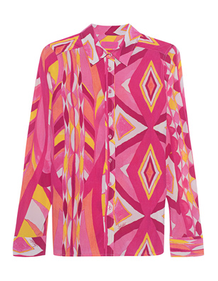 JADICTED Pattern Silk Pink Multicolor