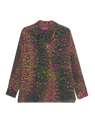 JADICTED Leo Silk Blouse Multicolor