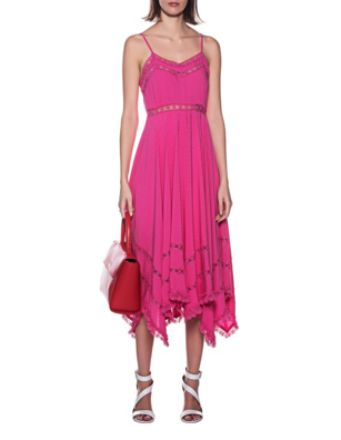 JADICTED Lace Dress Pink