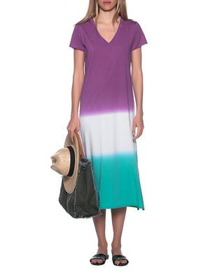 JADICTED Batik Long Shirt Purple