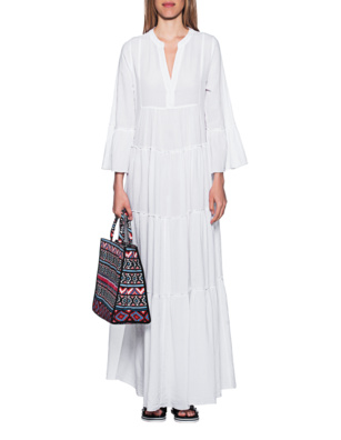 DEVOTION Long Dress White