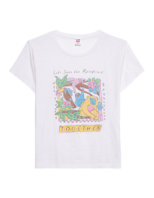RE/DONE Classic Save the Rainforest Off-White