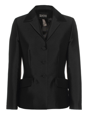 SLY 010 Jacket Shine Button Black