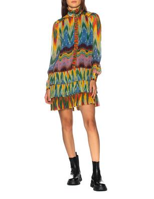 JADICTED Ruffle Stripe Multicolor