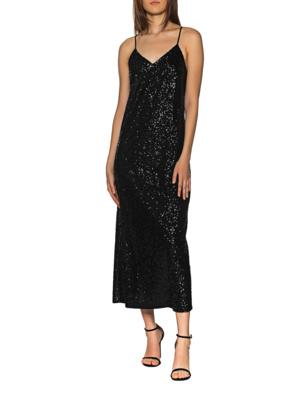 JADICTED Slip Dress Sequin Black