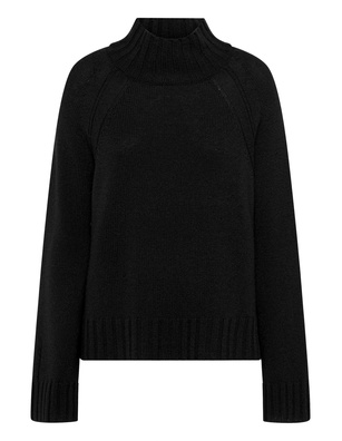 JADICTED Cashmere Stand Up Black