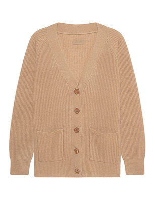 JADICTED Cashmere Button Beige