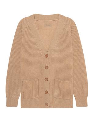 JADICTED Cashmere Button Beige