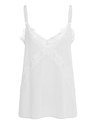 JADICTED Lace Silk White
