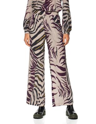 JADICTED Wide Leg Zebra Multicolor