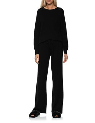 JADICTED Wool Cashmere Jogger Set Black