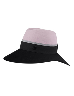 Maison Michel Kate Kick Pink Black Color Partner