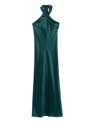 GALVAN LONDON Pandora Heavy Silk Emerald