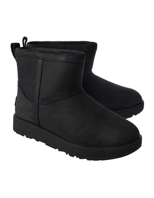 UGG  Classic Mini Waterproof Black