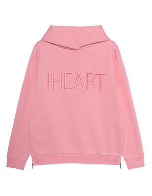 iHEART Heart Cassey Hoodie Dusty Rose