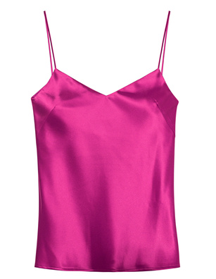 GALVAN LONDON V Neck Camisole Pink