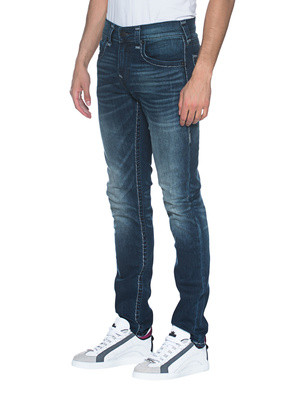 TRUE RELIGION Rocco Flap Big T Blue