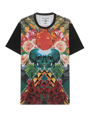 TRUE RELIGION Skull Allover Flower Multicolor