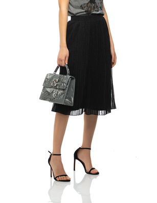 PRINCESS GOES HOLLYWOOD Pleated Shimmer Black