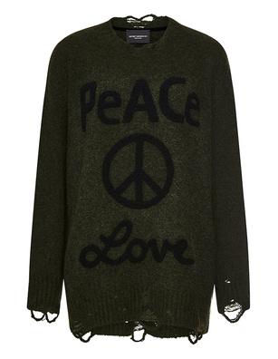 Deux Visions Paris Peace & Love Military Oliv