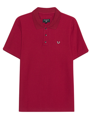 TRUE RELIGION Basic Polo Red