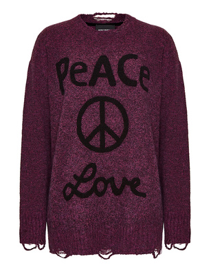 Deux Visions Paris Peace & Love Magenta