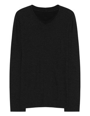 HANNES ROETHER Shady Longsleeve Black