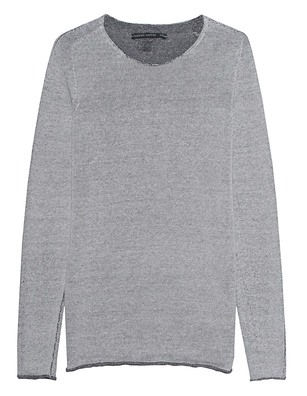 HANNES ROETHER Knit Magnesium Grey