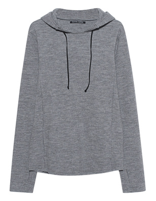 HANNES ROETHER Long Hooded Grey