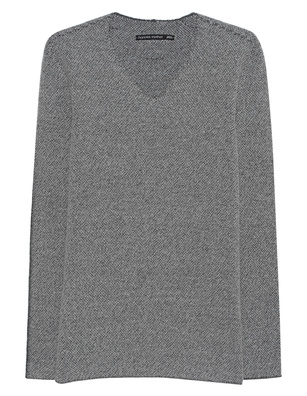 HANNES ROETHER V-Neck Bello Grey