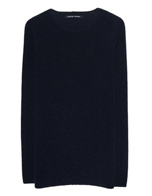 HANNES ROETHER New Wool Knit Navy