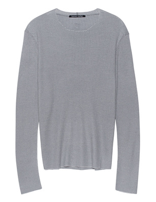 HANNES ROETHER Justus Knit Lightgrey