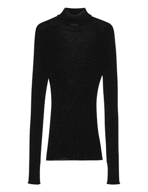 iHEART Turtleneck Elouise Sparkle Black