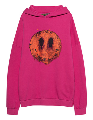 CAMOUFLAGE COUTURE STORK Hooded Smiley Pink