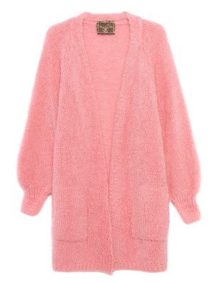 CAMOUFLAGE COUTURE STORK Chunky Knit Pink